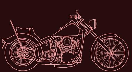 chopper: Motorbike chopper