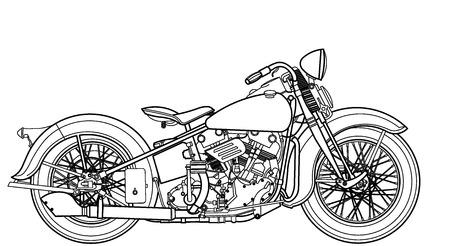 オートバイ ヴィンテージ