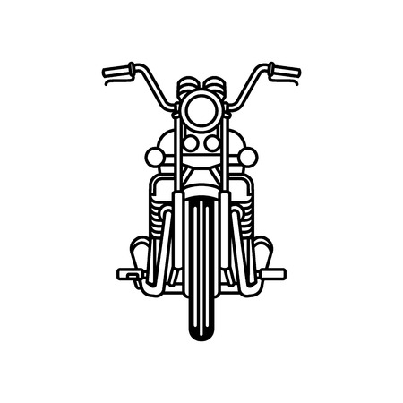 Motorcycle line draw