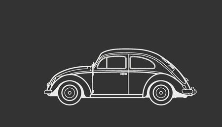 legendary: Car retro legendary
