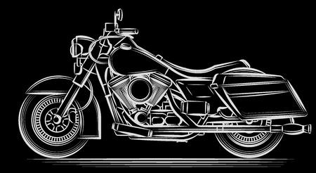 bicicleta vector: motocicleta vectorial