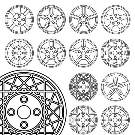 alloy wheel: Wheels set, rims