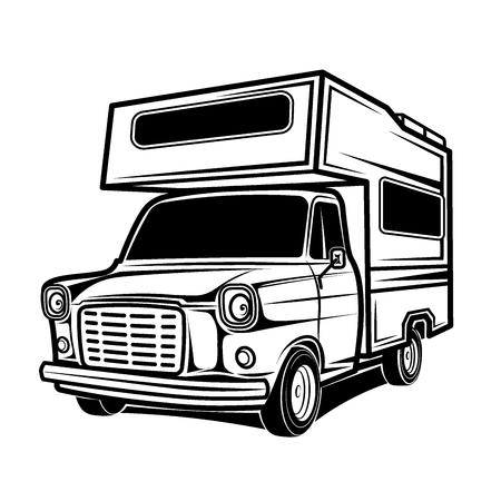 car rv camper caravan bus