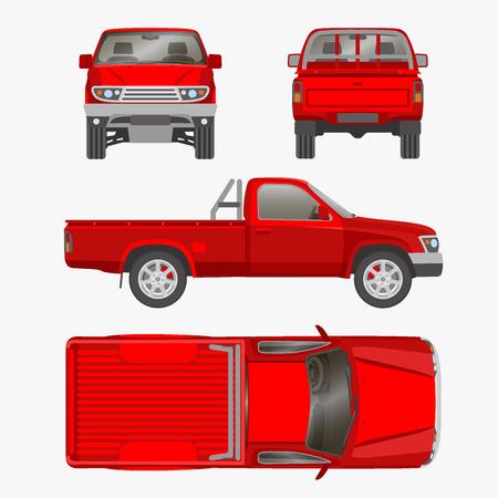 Pickup truck illustration blueprint royalty free cliparts vectors 55832462 pickup truck illustration blueprint malvernweather Image collections