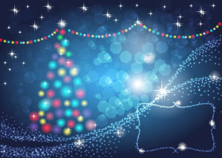 Christmas background. With space for your text. Vector