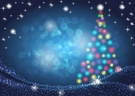 Christmas and New Year background with place for your text