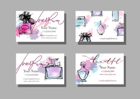 Makeup artist business card vector template with beautiful makeup artist business card vector template with beautiful perfume royalty free cliparts vectors and stock illustration image 69223717 reheart Choice Image