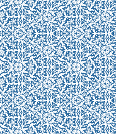 Vector seamless geometric pattern, background for design.