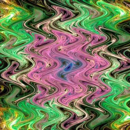 Abstract fractal background, computer-generated illustration. Stockfoto