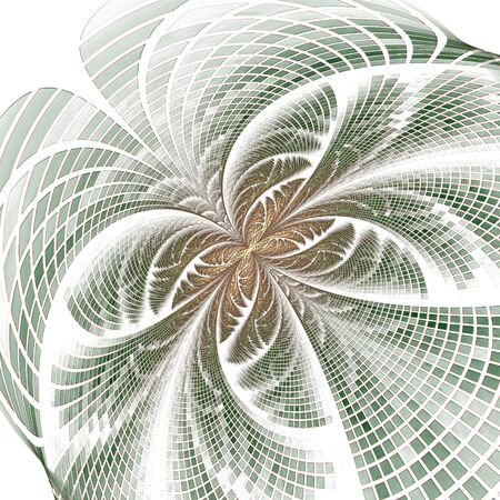 Abstract fractal background, computer-generated illustration. 版權商用圖片