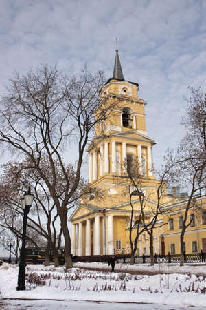 perm: a cathedral is a department in city Perm, Russia