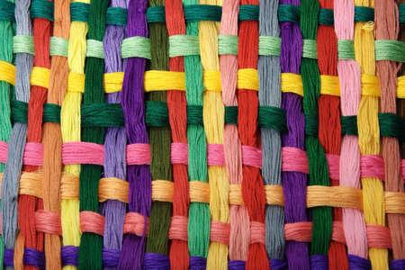 varicoloured: bright varicoloured background from threads