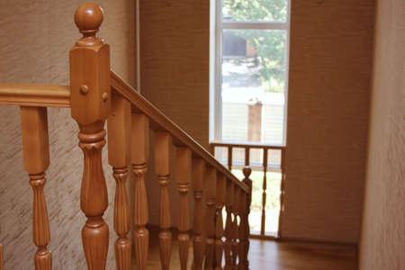 inwardly: interior, stair