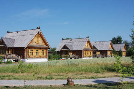 rural summer landscape, Russia photo