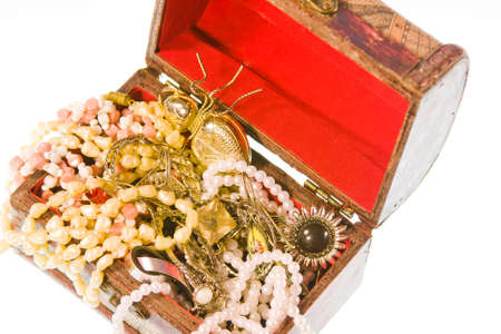 valuables: small box with valuables