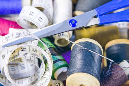 belonging: small box with sewing belonging