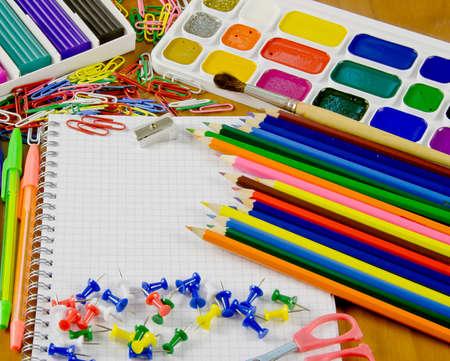 belonging: bright school belonging, office commodities