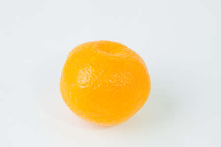orange tangerine on a white background photo