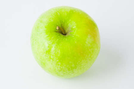 green apple  on a white background Stock Photo - 17278946