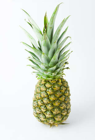 pineapple on a white background Stock Photo - 17279000