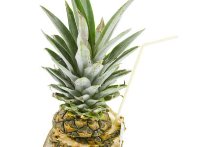 pineapple on a white background Stock Photo - 17278943