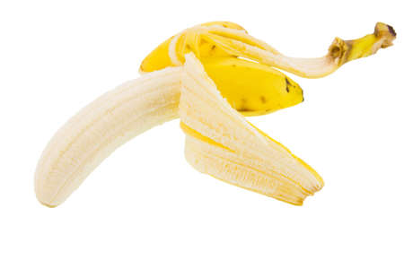 ripe banana on a white background Stock Photo - 17278769