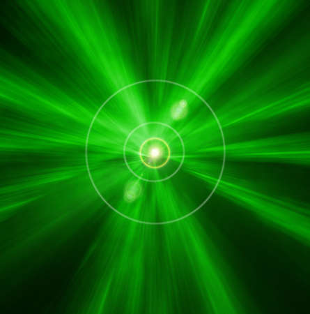 incandescence: abstract beautiful bright green background