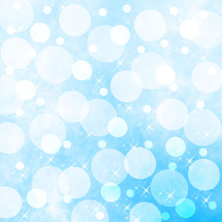 incandescence: an abstract brilliant  light blue background Stock Photo