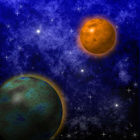 beautiful star sky, space galaxy, a background  for a design photo