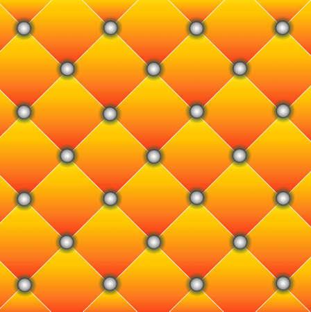 exemplary: brightly orange edging of door, background for a design,  vector  illustration Illustration
