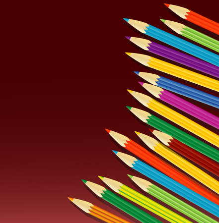 varicolored: varicolored pencils