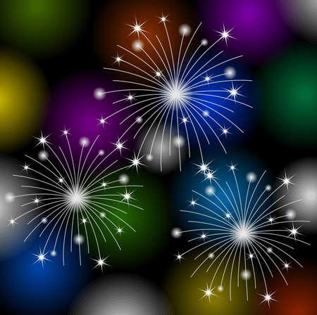 banger: festive banger on a bright background,  vector  illustration Illustration