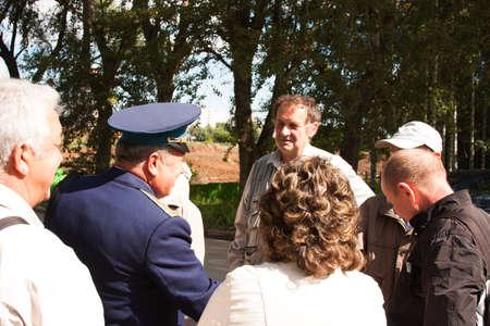 arbol de problemas: Reunión de los veteranos de la universidad de la aviación de la ciudad de Perm