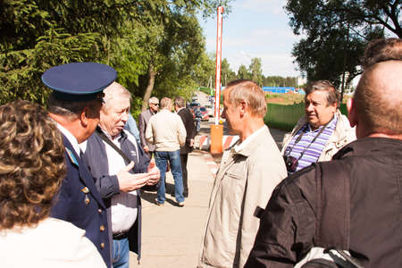 alumni: Meeting of veterans of aviation college of city of Perm