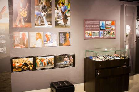 Ekaterinburg, Russia - September 24.2016: Vladimir Vysotskys Museum,  display exhibits Redakční