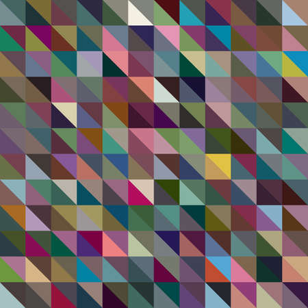 parallelepiped: abstract colorful geometric background based grid. vector illustration