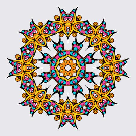 arabic style: Circular pattern in arabic style