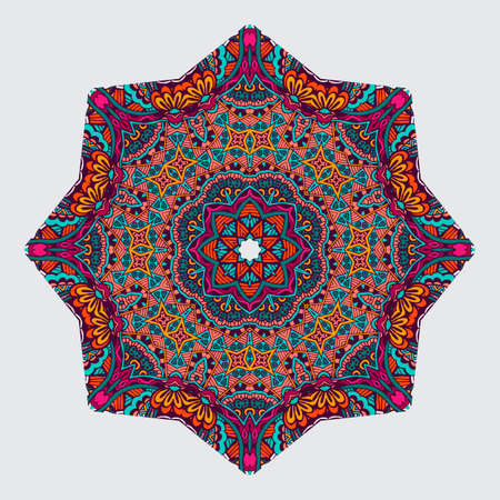 mandala: ethnic mandala in Oriental style Illustration