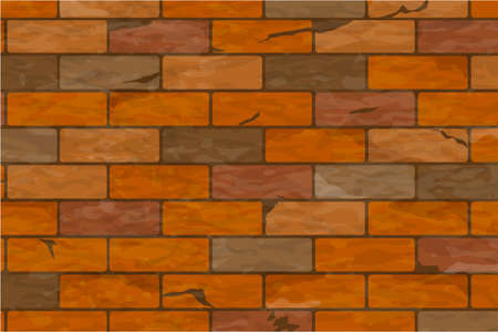 Texture of a brick wall. Can be used in 3D modeling for UV Mapping Foto de archivo