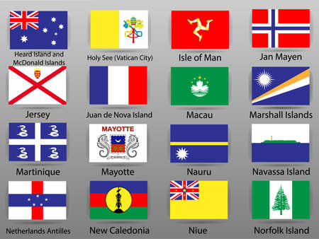 Flags of all countries of the world 版權商用圖片 - 112885043