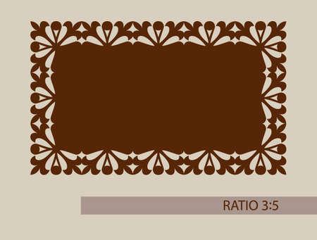 grecas: ornamento geom�trico. El patr�n de plantilla para el panel decorativo. Una imagen adecuada para la impresi�n, el grabado, el papel del corte por l�ser, la madera, el metal, la fabricaci�n de la plantilla. Vector. F�cil de editar