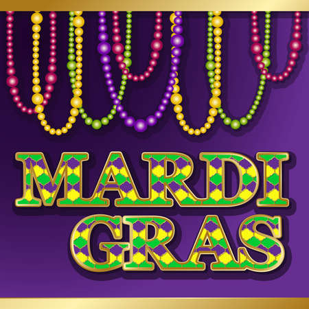 Mardi gras background vector golden text fat tuesday on french mardi gras background vector golden text fat tuesday on french language greeting cards with m4hsunfo