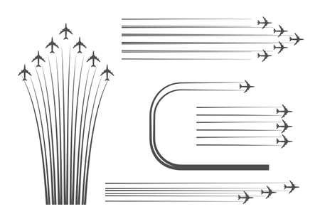 Regeling bouwen van vluchten van gevechtsvliegtuigen op een Airshow