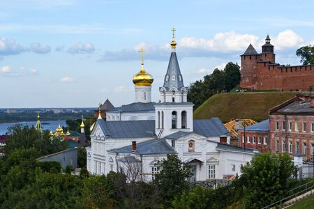 oka: The old town is at the confluence of two large rivers, the Oka and the Volga.