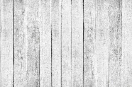 Achtergrond van oude ruwe planken wit geverfd