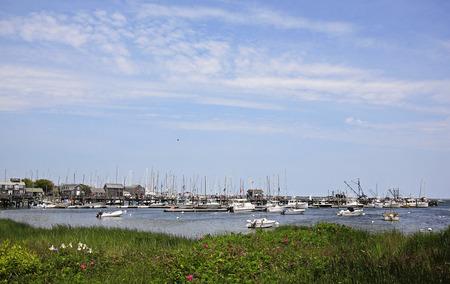 Nantucket Island harbor