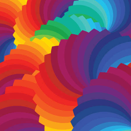 Color wheel background Illustration 向量圖像