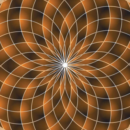 Mosaic spectrum color wheel Vector