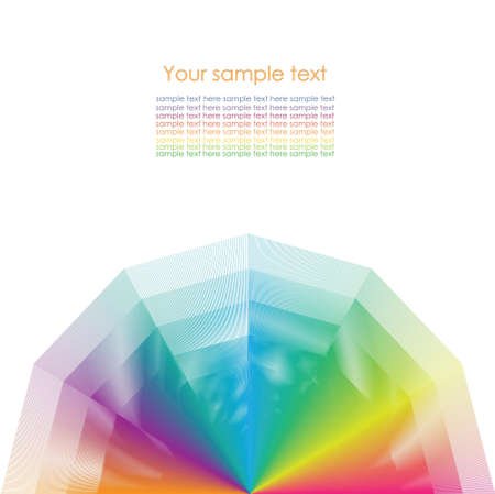 chromatic color: Color wheel background.