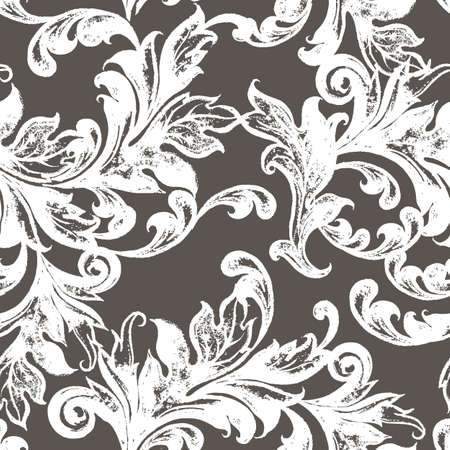 Vintage vector seamless pattern.